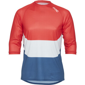 POC Essential Enduro 3/4 Light Jersey Heren, prismane multi red